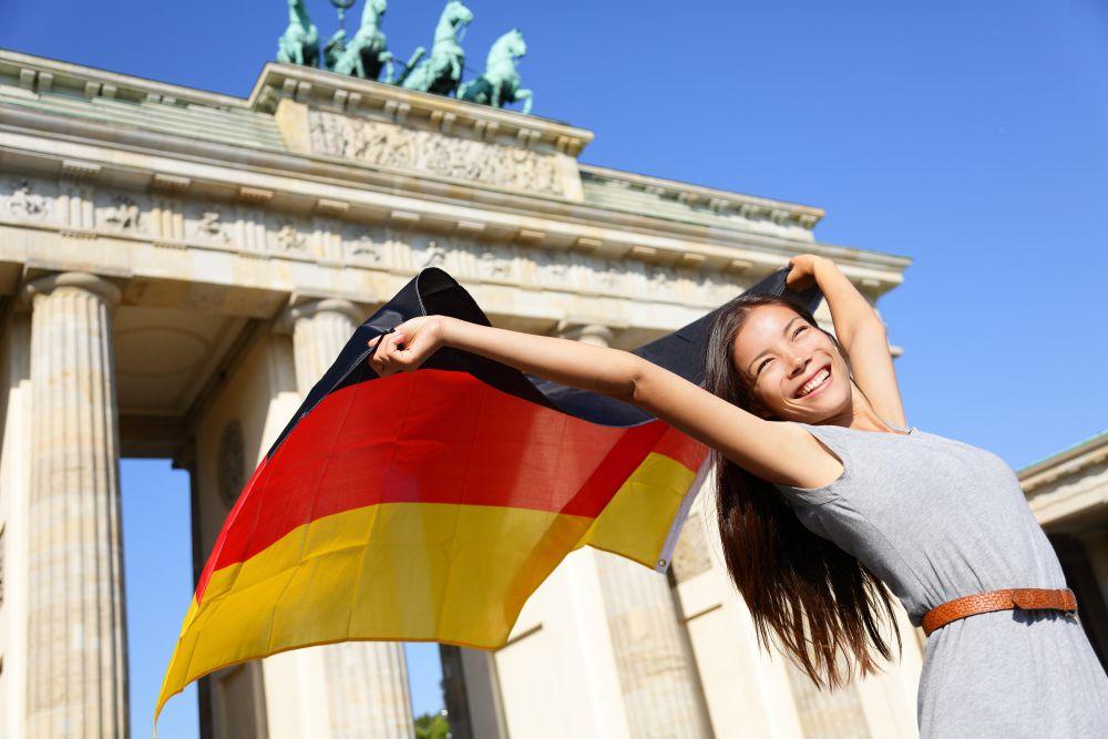 Nationalfahnen - Deutschlandfahne