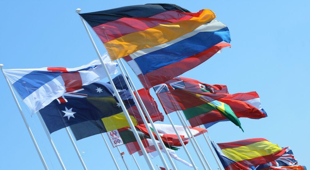 Nationalfahnen - Hissfahnen